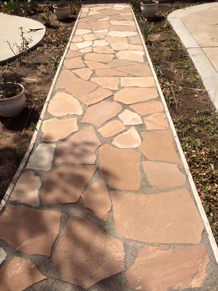 Brick & Flagstone